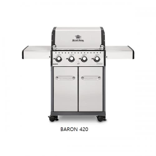 SATARIANO BROILKING BBQ Baron 420s