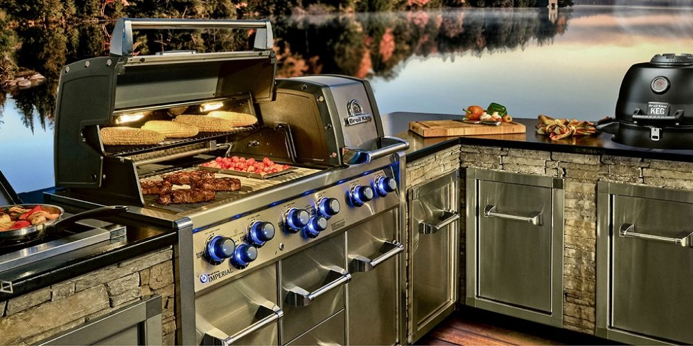 SATARIANO BROILKING BUILT-IN bbq