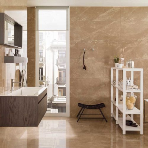 Satariano-Bathroom-Porcelanosa-Classic-gold-and-wood-style