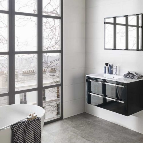 Satariano-Bathroom-Porcelanosa-Classic-white-with-black-elements