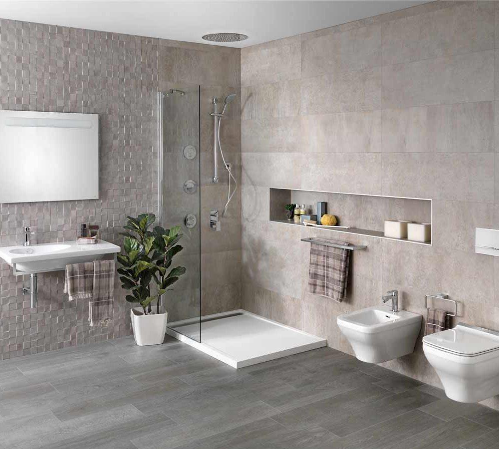 Satariano-Bathroom-Porcelanosa-Contemporary-beige-and-white-design