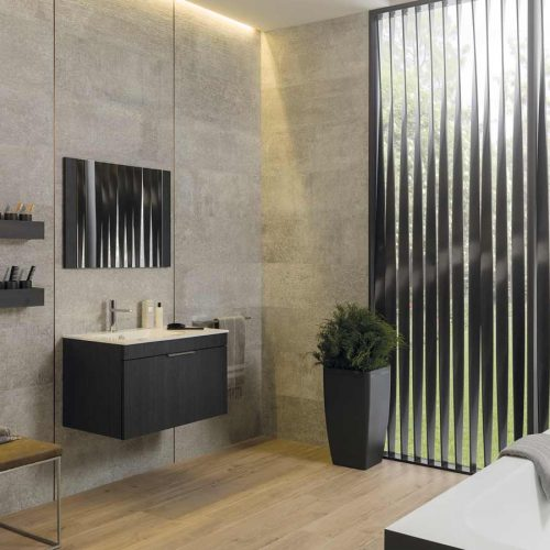 Satariano-Bathroom-Porcelanosa-Contemporary-beige-with-black-design