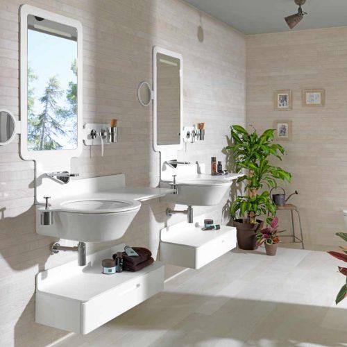 Satariano-Bathroom-Porcelanosa-Contemporary-dual-sink-bathroom-with-beige-elements