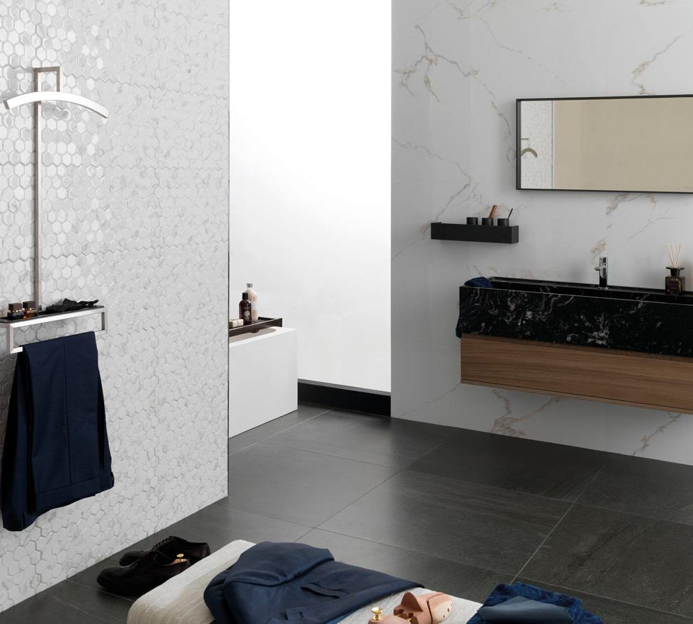 Satariano-Bathroom-Porcelanosa-Contemporary-monochrome-design