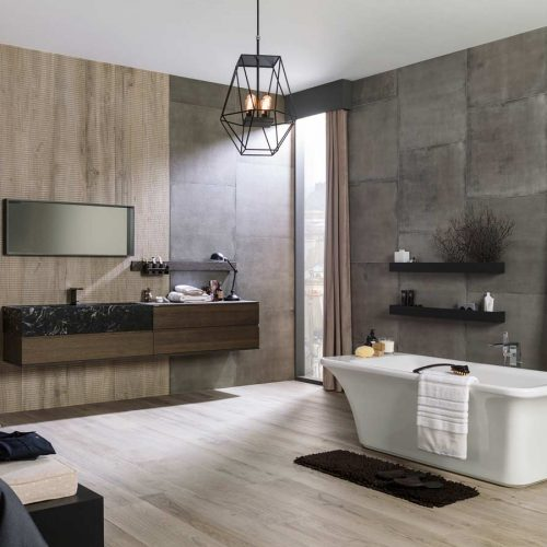 Satariano-Bathroom-Porcelanosa-Modern-grey-and-beige-design-with-wooden-elements