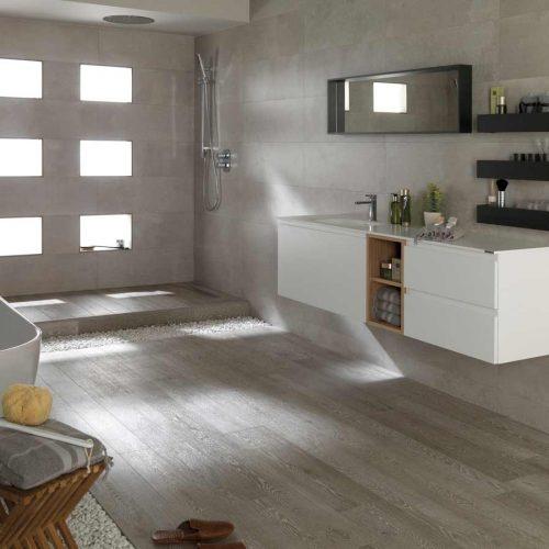 Satariano-Bathroom-Porcelanosa-Modern-sand-shade-with-white-and-dark-elements