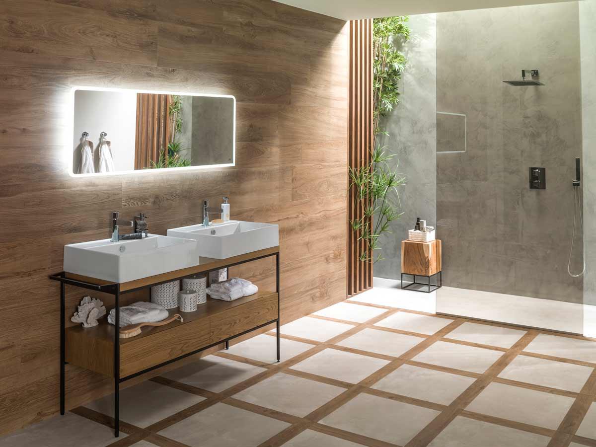 Porcelanosa Bathroom Tiles