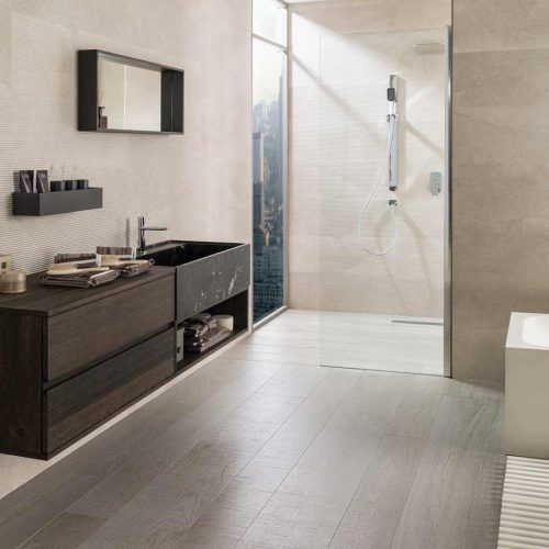 Satariano-Floor-and-Wall-Porcelanosa-Classic-beige-flooring-and-walls
