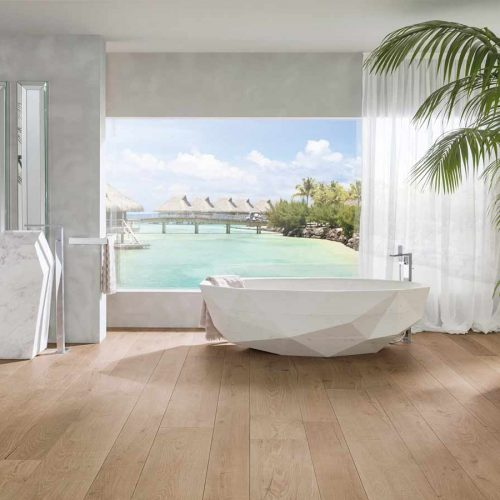 Satariano-Floor-and-Wall-Porcelanosa-Modern-sand-beige-flooring-and-grey-walls