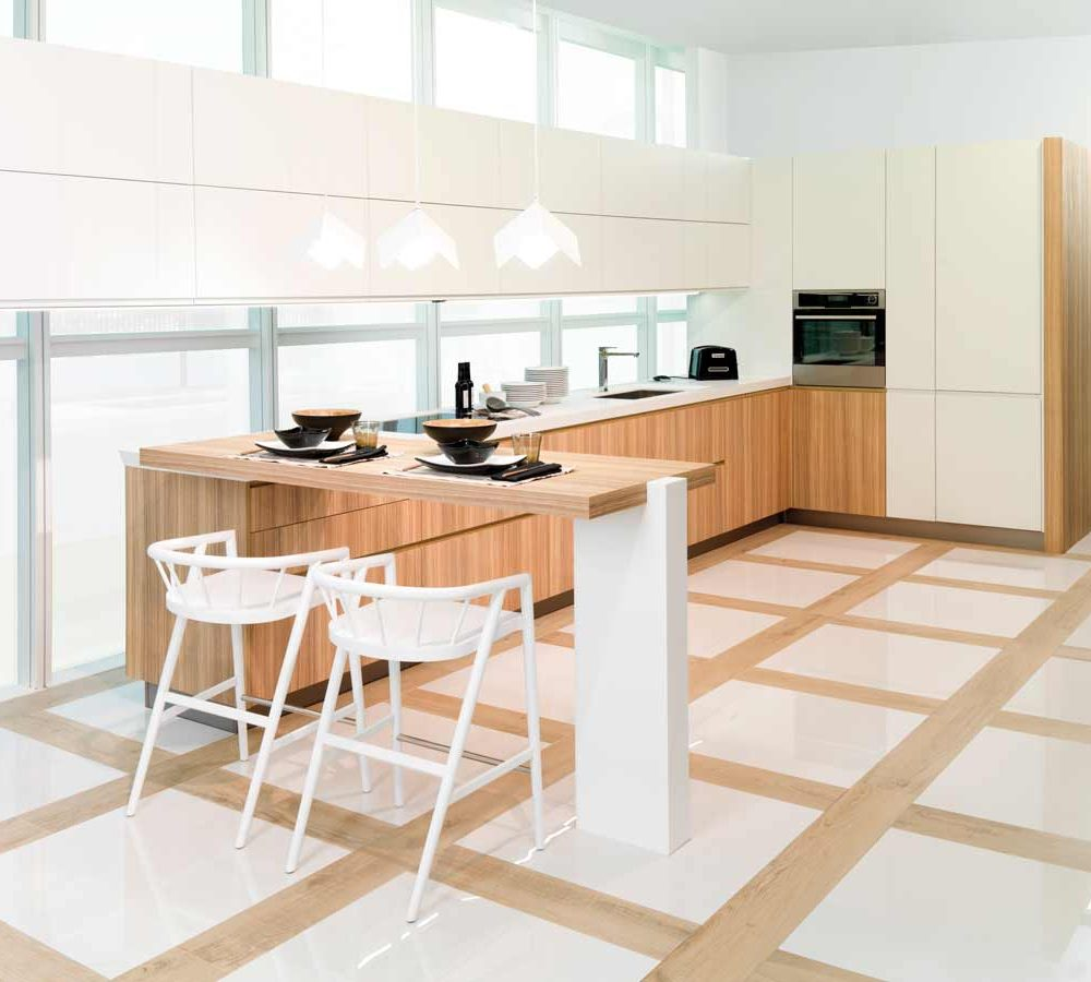 Satariano-Floor-and-Wall-Porcelanosa-Modern-sand-wood-floor-with-white-tiles