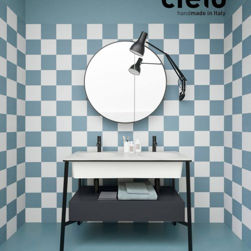 Satariano-Bathroom-Cielo-Contemporary-design-bathroom-cabinet-with-a-round-mirror