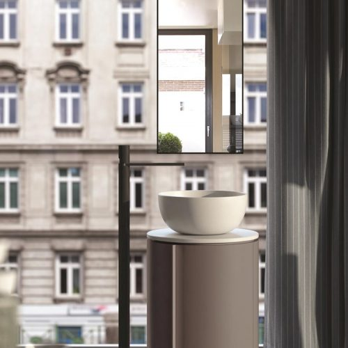 Satariano-Bathroom-Cielo-Contemporary-design-open-bathroom-with-a-round-sink-and-a-view