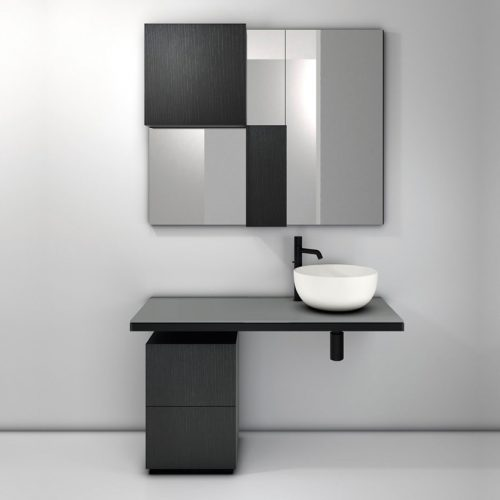 Satariano-Bathroom-Cielo-Contemporary-design-round-sink-on-a-bathroom-unit