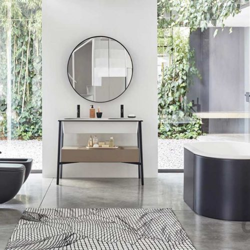 Satariano-Bathroom-Cielo-Modern-design-bathroom-oval-bath-a-toilet-and-a-bidet