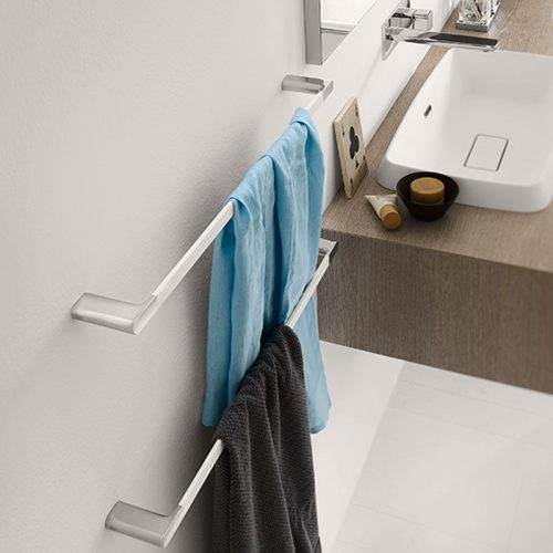 Satariano-Bathrooms-Inda-Classic-Two-Towel-Rails
