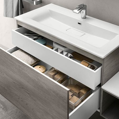 Satariano-Bathrooms-Inda-Classic-White-Rectangular-Sink.with-two-storage-units