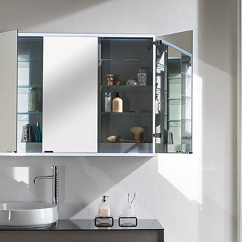 Satariano-Bathrooms-Inda-Contemporary-Sink-with-a-Mirror-Storage-Unit