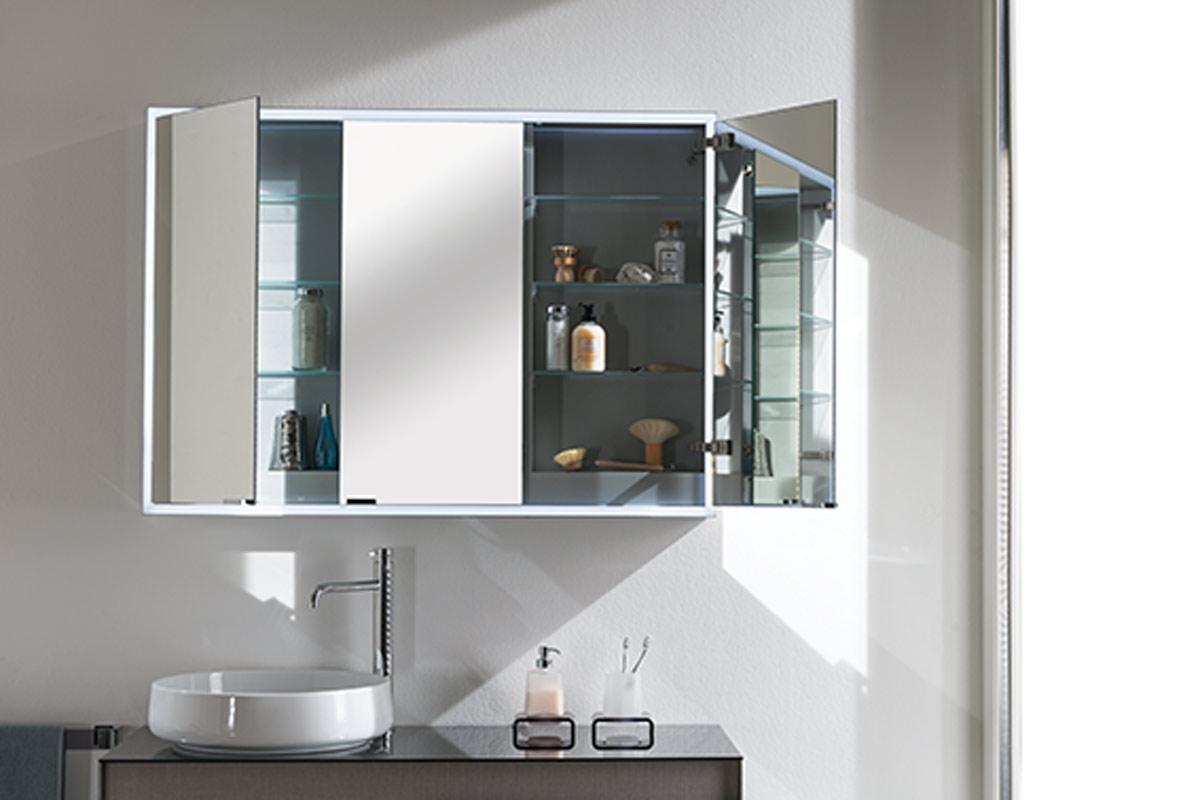 Satariano Bathrooms Inda Contemporary Sink With A Mirror Storage