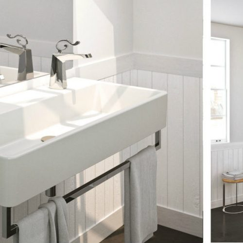 Satariano Bathrooms Mamoli Classic fixtures with design