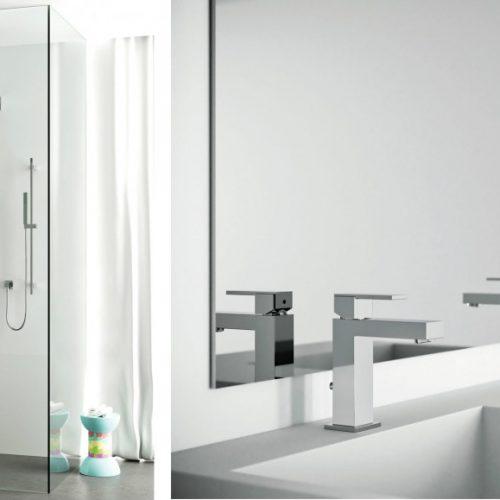 Satariano Bathrooms Mamoli Classic square water fixtures