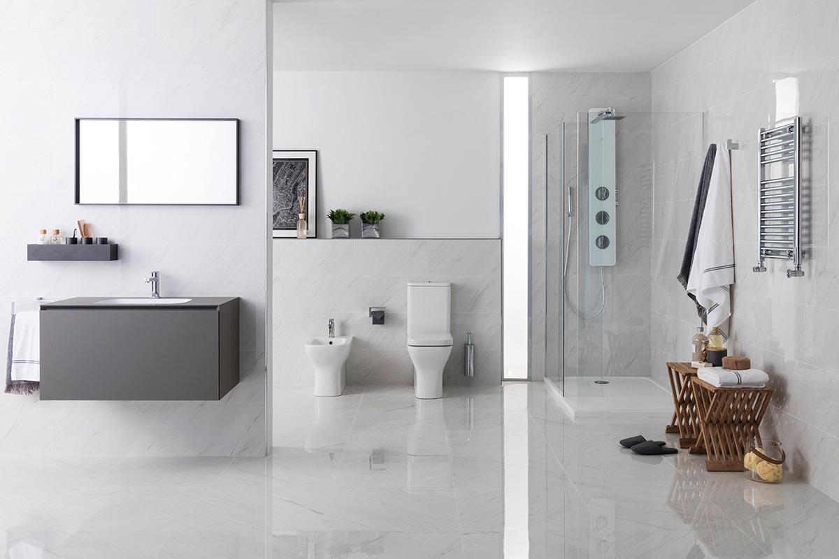 Satariano-Bathrooms-Urbatek-Classic-light-high-gloss-tiling-and ...