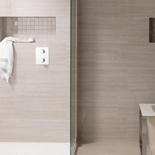 Satariano-Bathrooms-Urbatek-Classic-polished-mosiac-beige-tiling-for-shower