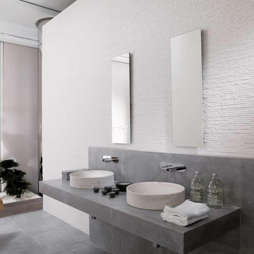 Satariano-Bathrooms-Venis-Contemporary-white-textured-walls-and-grey-tiling