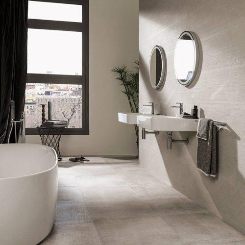 Satariano-Bathrooms-Venis-Modern-large-beige-tiling
