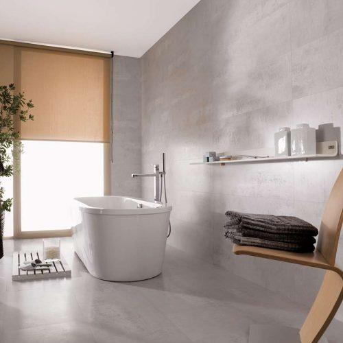 Satariano-Bathrooms-Venis-Modern-large-light-grey-tiling