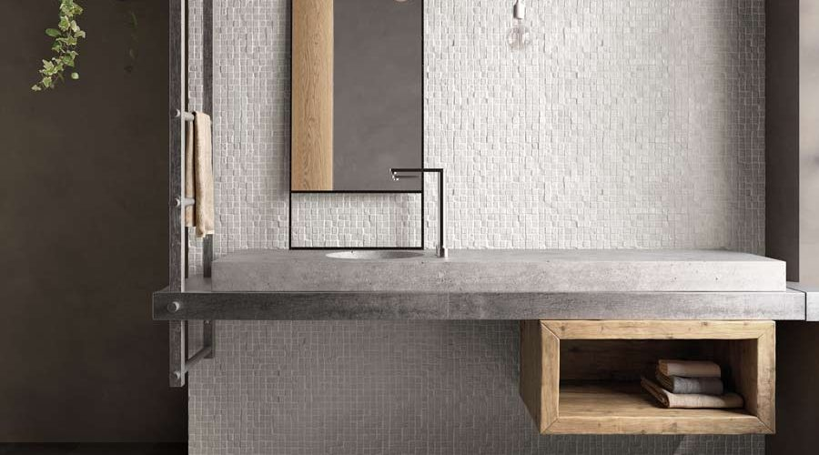 Satariano-Bathrooms-Viva-Contemporary-textured-feature-wall