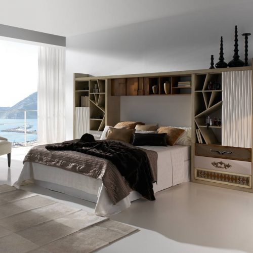 Satariano-Bedroom-Lola-Glamour-Modern-design-bedroom-bed-with-wooden-wall-unit