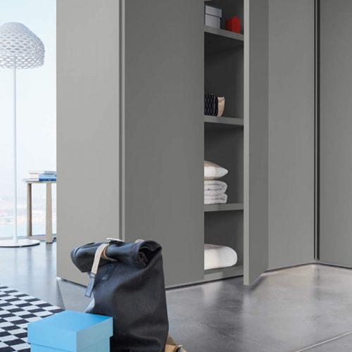 Satariano-Bedrooms-San-Giacomo-Contemporary-grey-open-door-wardrobe