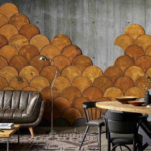 Satariano-Dialma-Brown-Dining-contemporary-feature-wall-dining-room