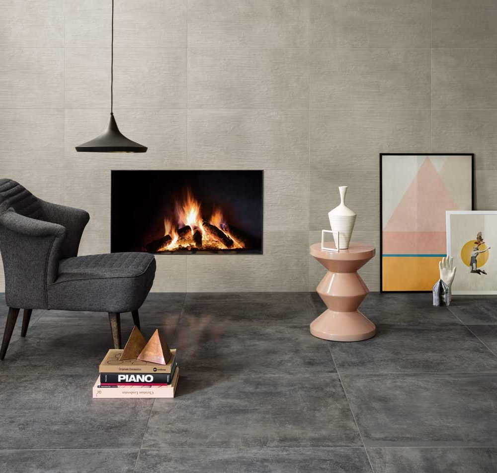 Satariano-Floors-and-Walls-Contemporary-Novabell-dark-grey-tiles-and-beige-wall-tiles
