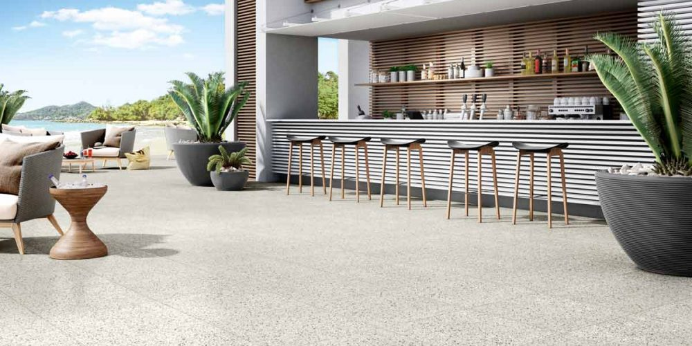 Satariano-Floors-and-Walls-Contemporary-Novabell-outdoor-bar-pebbled-tiling