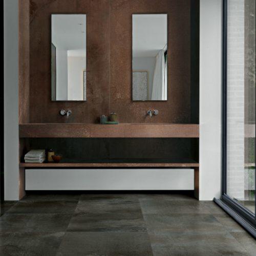 Satariano Floors and Walls Floor Gres Classic Bathroom gray tile flooring