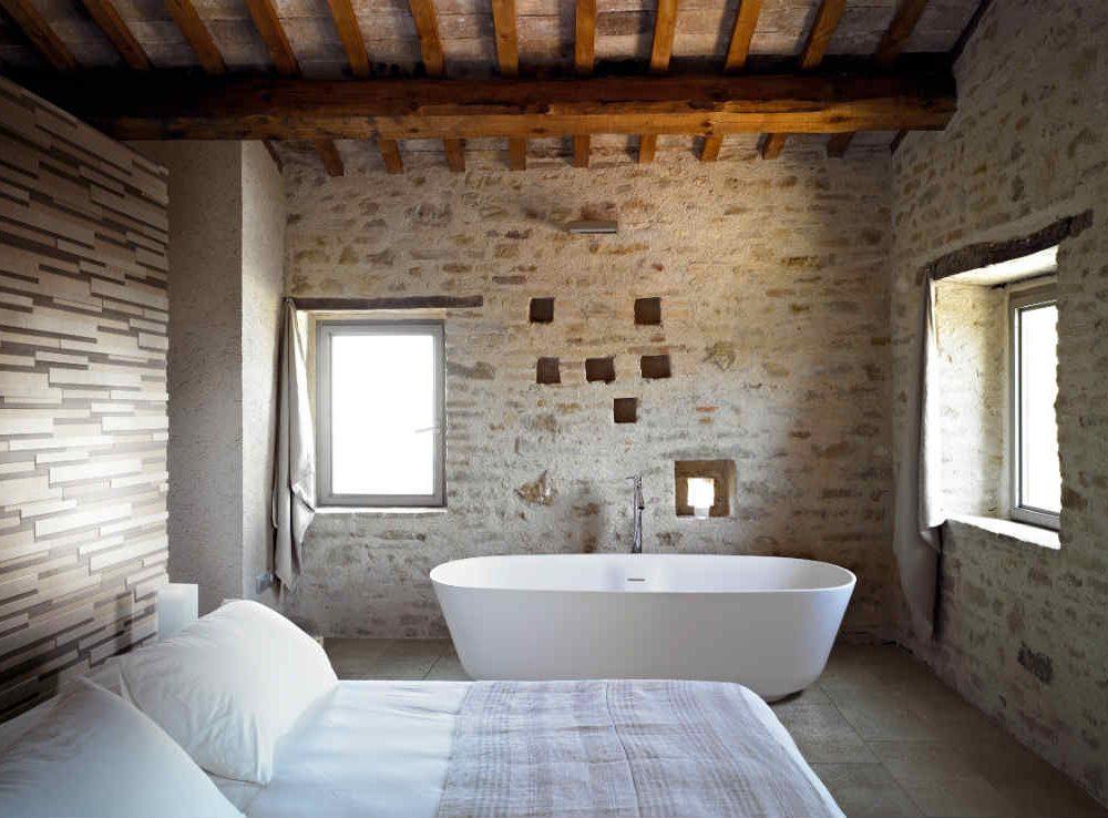 Satariano Floors and Walls Floor Gres Contemporary brick style walls