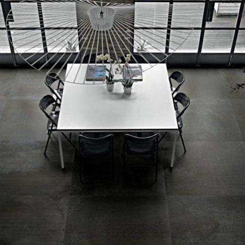 Satariano Floors and Walls Floor Gres Contemporary dark brown grey tiles
