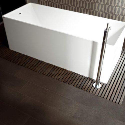 Satariano Floors and Walls Floor Gres Modern Bathroom brown floor patterned wall