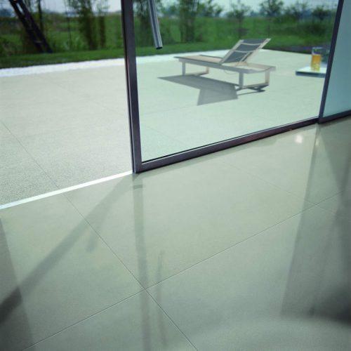 Satariano Floors and Walls Floor Gres Modern light grey gloss floor