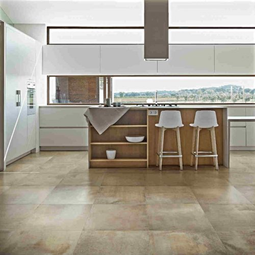 Satariano Floors and Walls Rex Classic beige square flooring