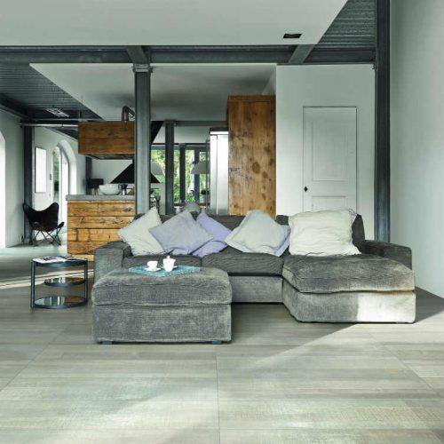 Satariano Floors and Walls Rex Classic light grey wooden texture floor