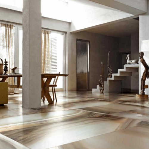 Satariano Floors and Walls Rex Contemporary textured brown beige floor