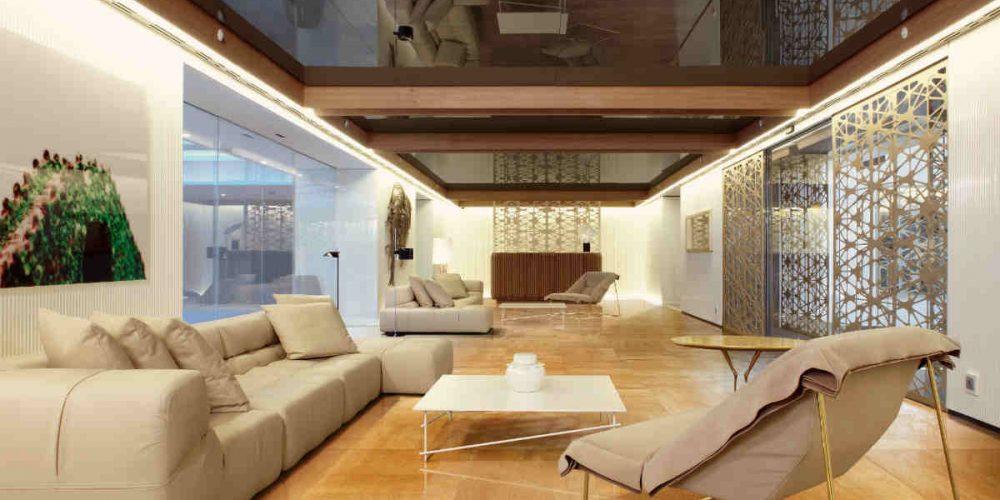 Satariano Floors and Walls Rex Contemporary yellow marble flooring