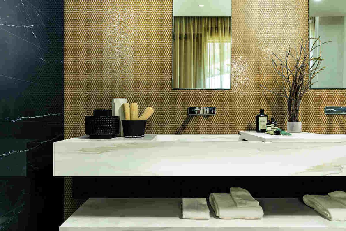 Wondrous Satariano Floors And Walls Rex Modern Bathroom Black Marble Interior Design Ideas Tzicisoteloinfo