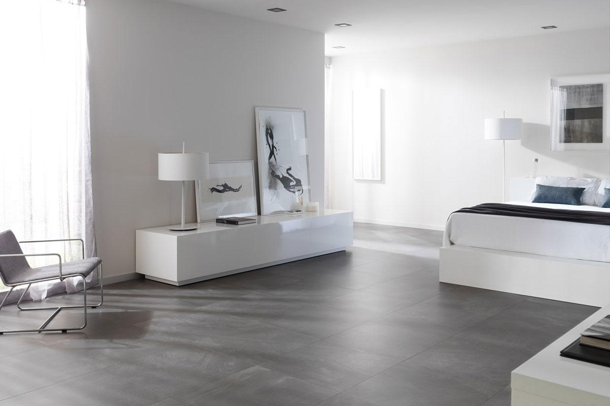 Satariano Floors And Walls Urbatek Contemporary Matte Light Grey Flooring