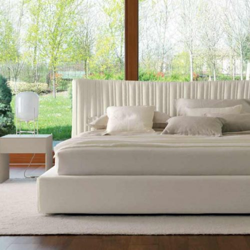 Satariano Furniture Desiree Beds Classic White Double Bed