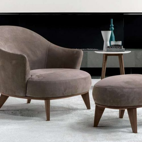 Satariano-Furniture-Desiree-Sofas-Contemporary-armchair-with-poof-light-brown