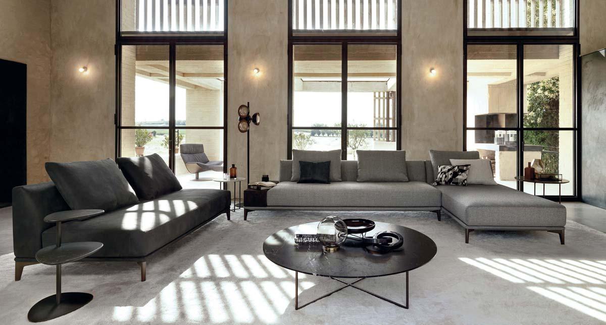 Satariano-Furniture-Desiree-Sofas-Contemporary-dark-grey ...