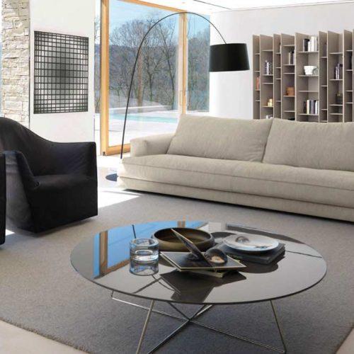 Satariano-Furniture-Desiree-Sofas-Modern-beige-sofa-and-two-black-armchairs